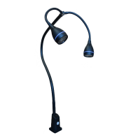 hydra LED lamp black model
