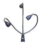 lampe LED Lerna modèle noir
