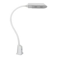LED lamp floraled